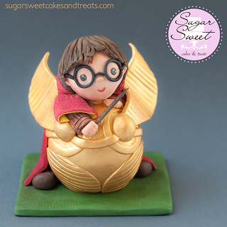 Harry Potter Golden Snitch Baby Shower Cake Topper | Flickr
