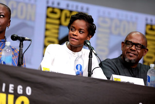 Letitia Wright & Forest Whitaker | by Gage Skidmore