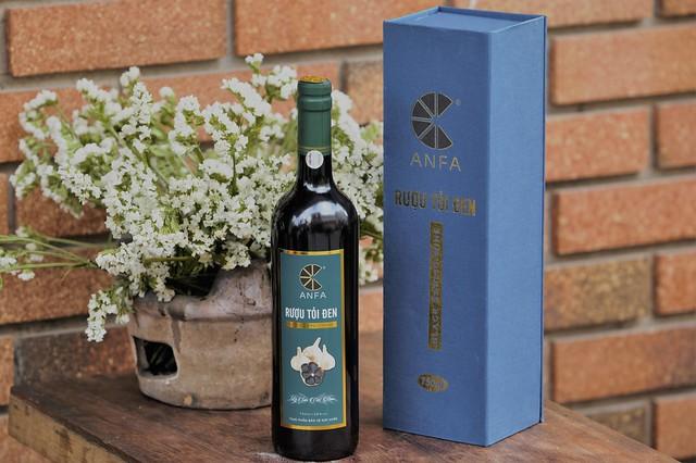Rượu Tỏi Đen Anfa