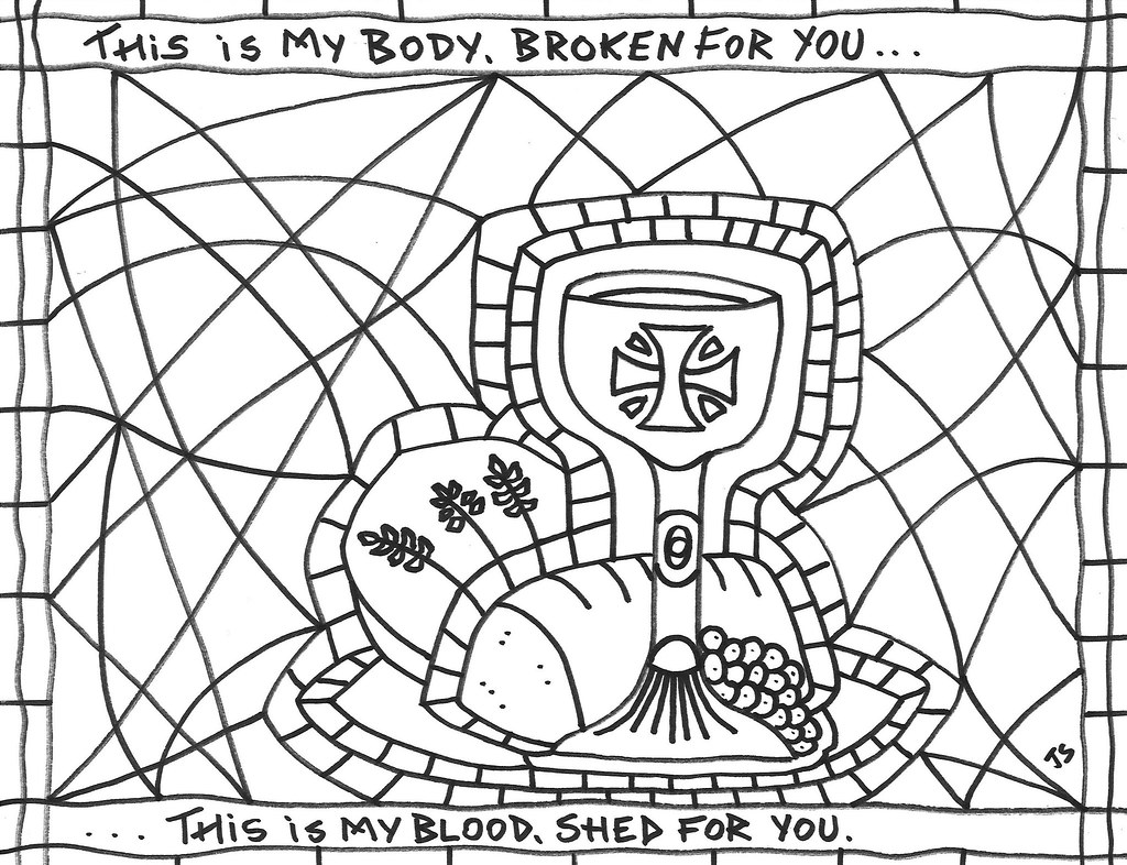 - Holy Communion Coloring Pages Azspringtrainingexperience