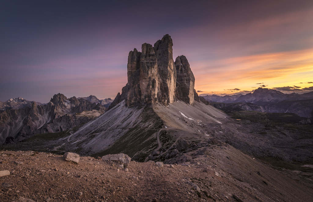 Dolomites: Burning Sky