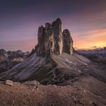 Dolomites: Burning Sky