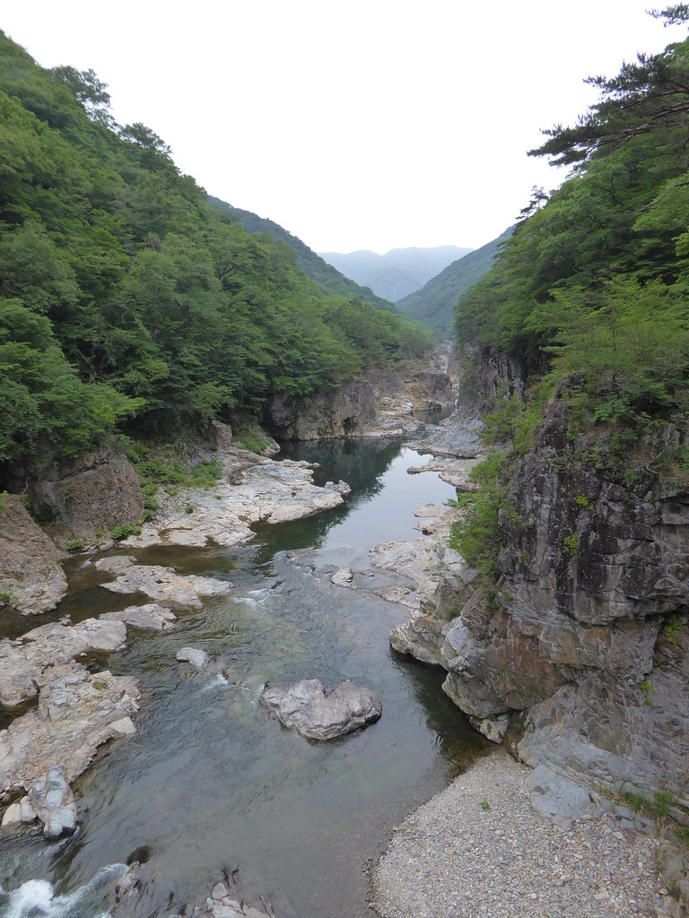 龍王峡 Ryuou-kyo valley