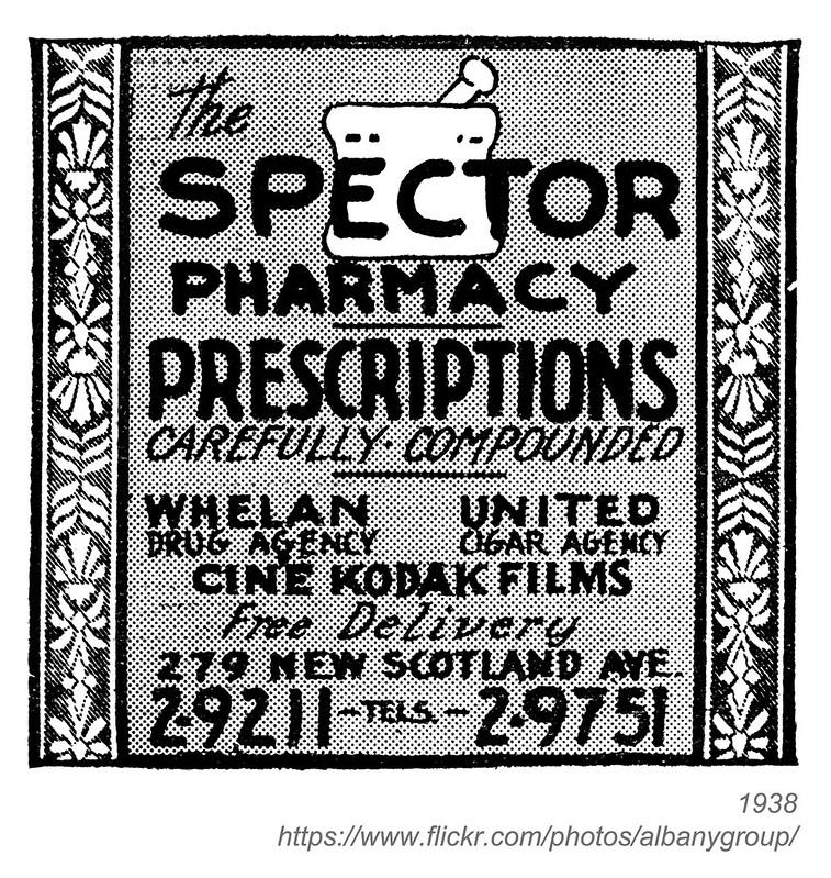1938 spector pharmacy
