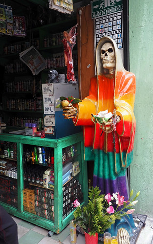 Puebla la santa muerte