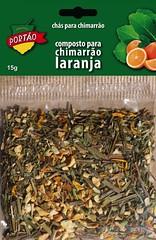 Chá em Cartela Portão - Laranja