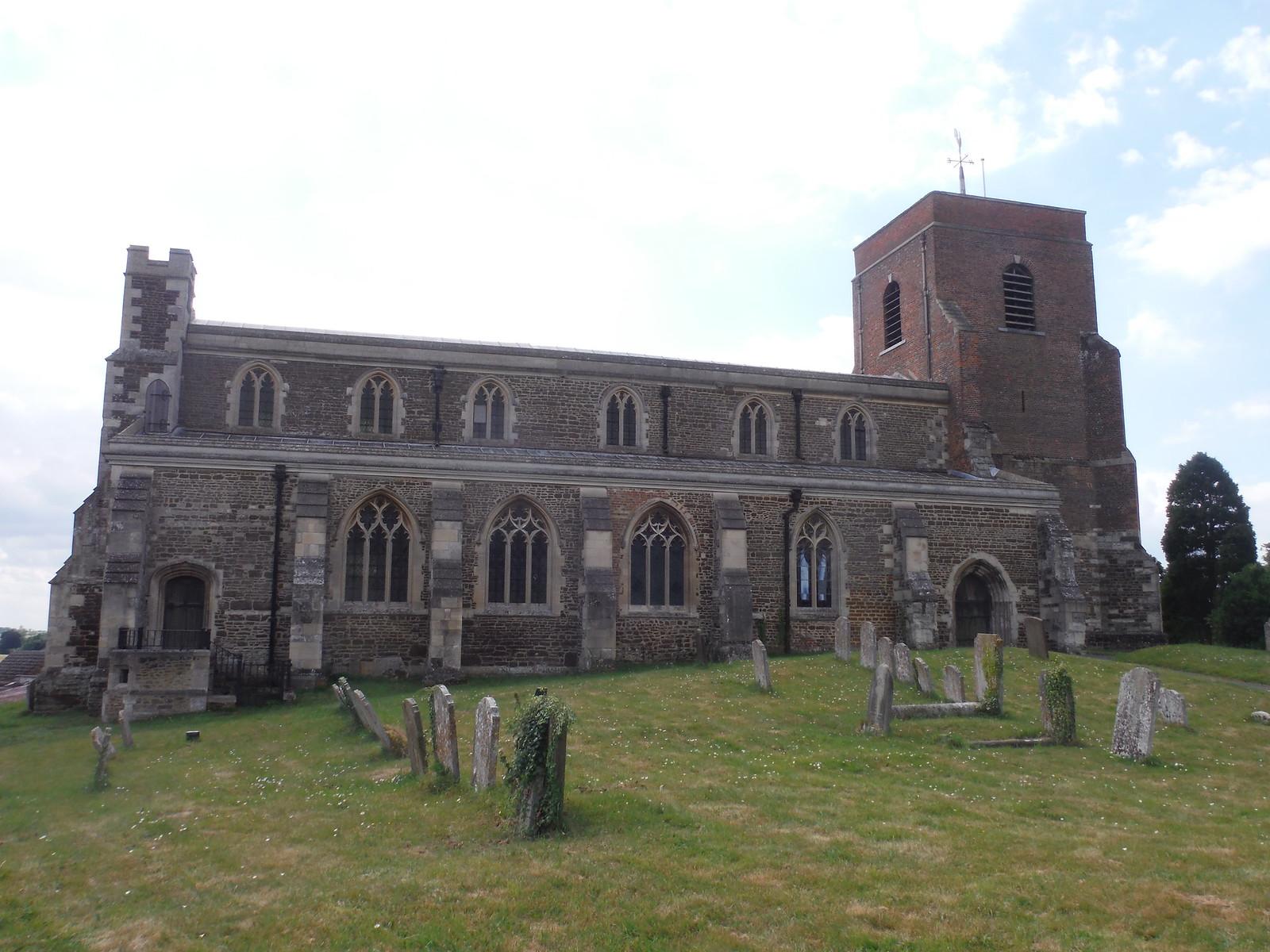 All Saints' Church, Shillington SWC Walk 233 - Arlesey to Letchworth Garden City