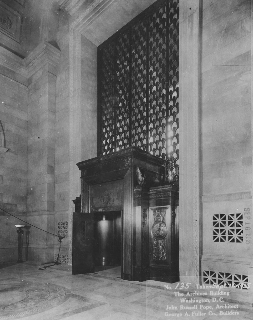 PHOTOGRAPH OF THE INTERIOR OF THE CONSTITUTION AVENUE ENTR FLICKR