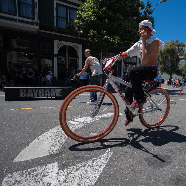 Sunday Streets SF Mission 2017: accrues hydrograph