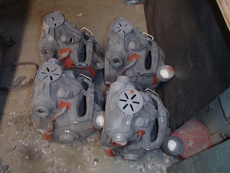 Helmets in Spot Putty