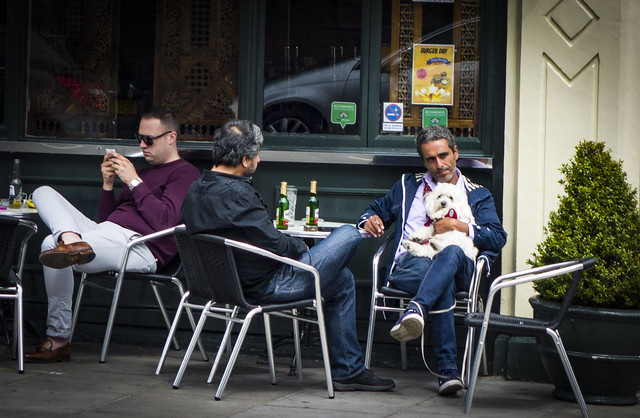 Drinkers Outside Duke of York St Johns Wood