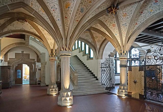 Le hall du musée historique de Haguenau