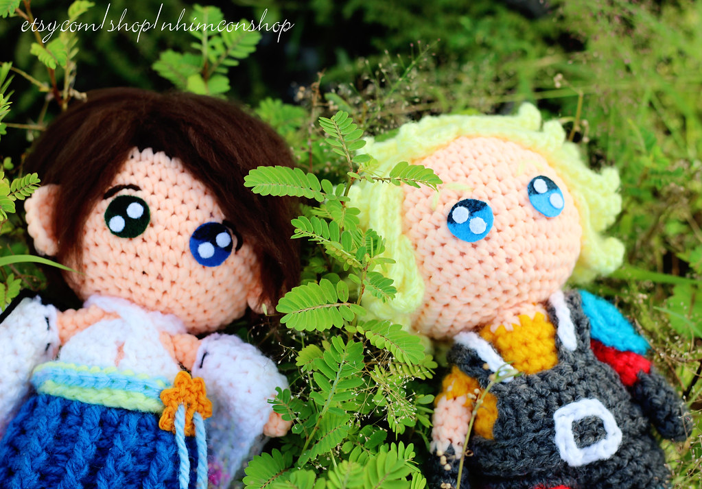 Final Fantasy Amigurumi by AnyaZoe on DeviantArt****yuna, lulu ... | 713x1023