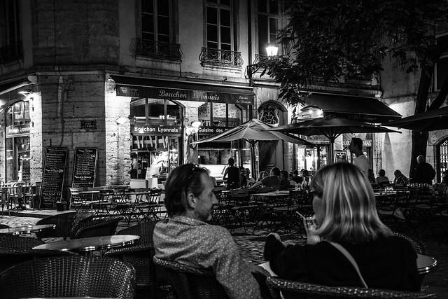 Lyon, la nuit...