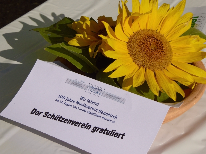 100 Jahre Musikverein Neunkirch