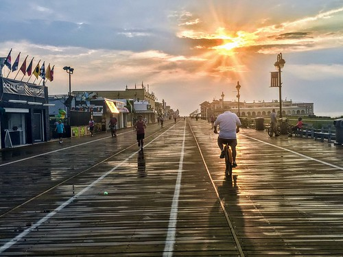 oceancityboardwalk oceancitynewjersey sunrise ocnj