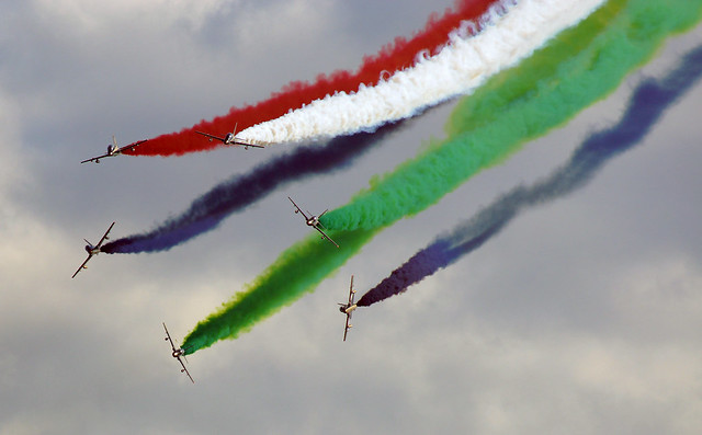 Fursan Al Ematar aerobatic team