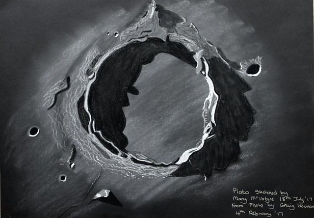 Sketch of Crater Plato
