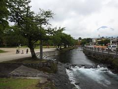 Fujisan from Kanda River