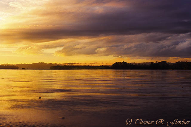 Sunrise, Napo River