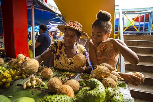 Seychelles - Daily Life - Market Vendors | by UN Women Gallery
