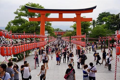 Fushimi Inari-Taisha Schrein | by chillyistkult