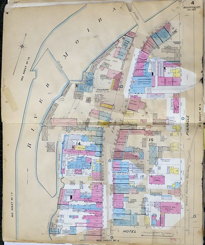 Belleville fire insurance map, 1888-1900, Page 4 | by Community Archives of Belleville & Hastings County