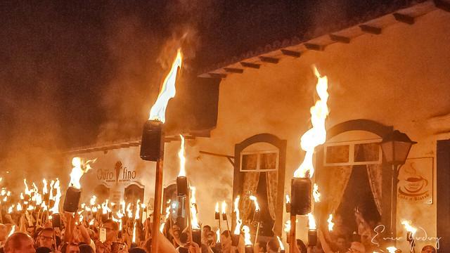 Fireworks Procession #7 - Flambeaux