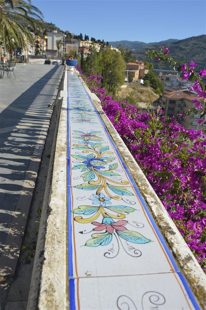 Santo Stefano di Camastra: una lunga balaustra | Santo Stefa… | Flickr