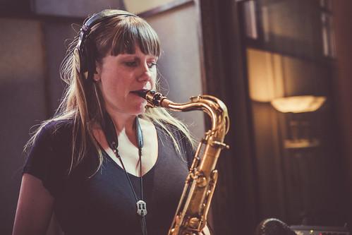 Annie Dominique Quintet studio 2017 - Annie Dominique   by annie_dominique