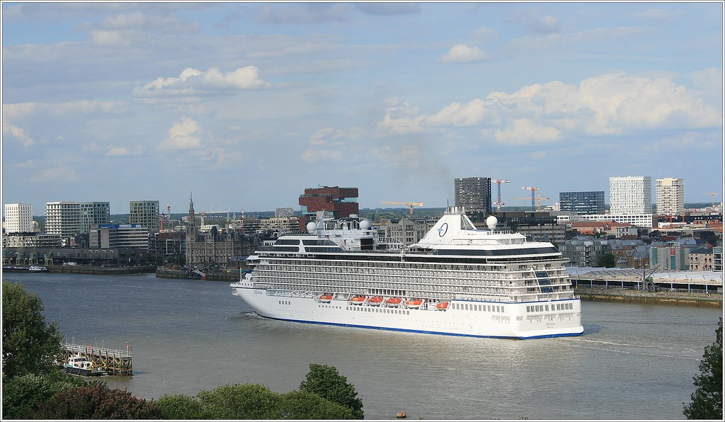 Cruise Ship MS Marina      Oceania Cruises  Departure  | Flickr