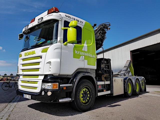 Scania R420 - Kranbil4U - AB MOVE4U i Syd