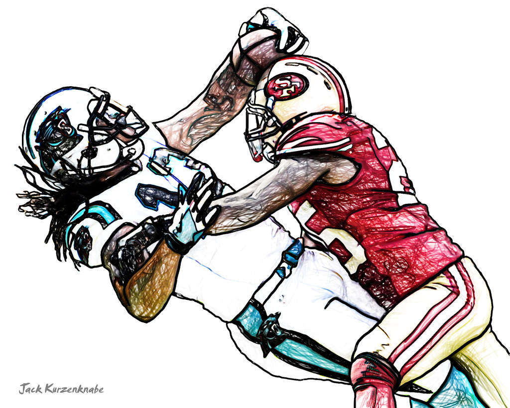 0 Carolina Panthers Kelvin Benjamin San Francisco 49ers Flickr