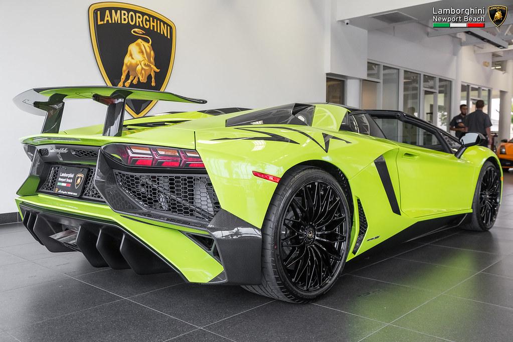 2017 Verde Scandal Lamborghini Aventador Lp750 4 Superve Flickr