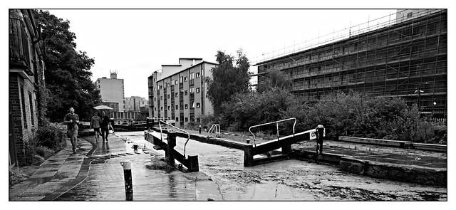 lock on Regents canal.