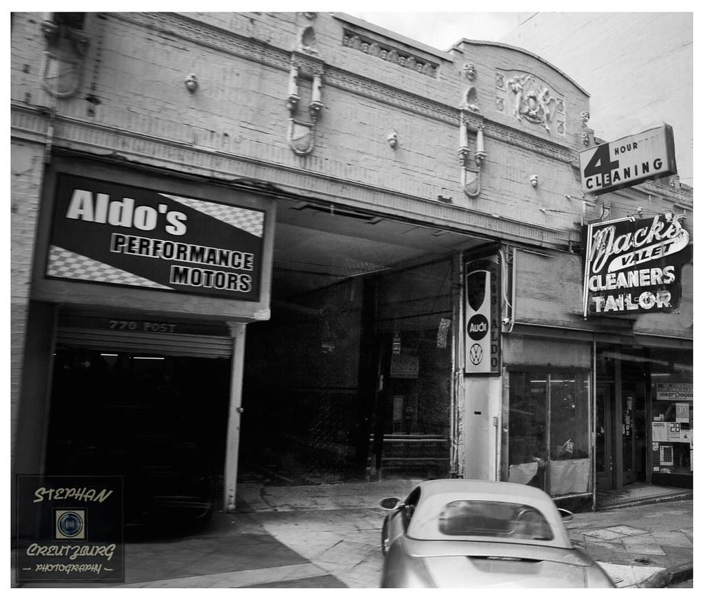 Aldo's Garage San Francisco | Stephan Creutzburg | Flickr