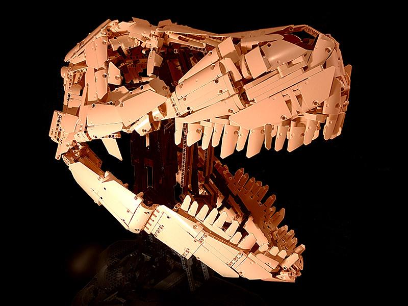 Tyrannosaurus Rex Skull MOC