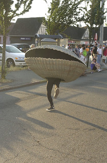 Ivar's Dancing Clam in University District Seafair parade, 2002