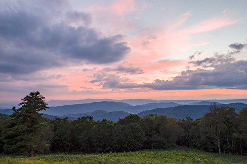 Sunset from Hazeltop Ridge Overlook | by mleese