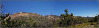 Panorama of the Grampians, under Mt William