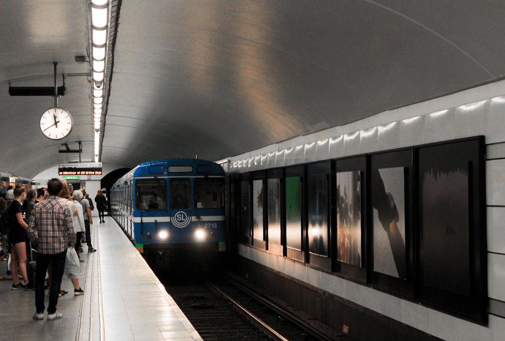 Stockholm's metro