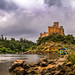 Almourol Castle also known by Castelo de Tancos