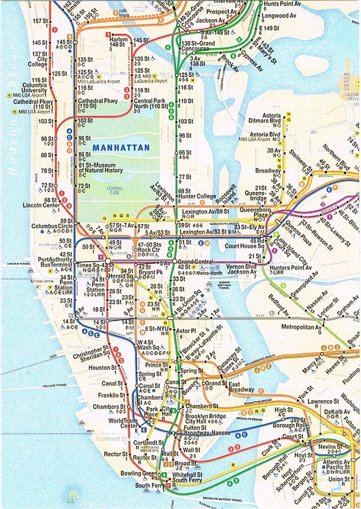 Subway Map Myc.Nyc Subway Map Postcard Nyc Subway Map 2016 Kotarana Flickr