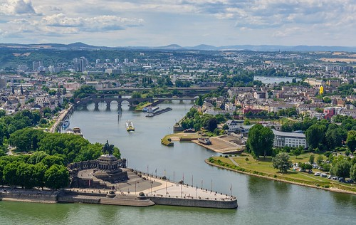 Deutsches Eck, Koblenz | by Frawolf77