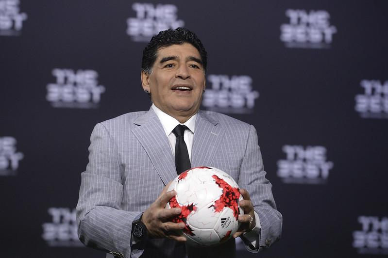 Diego Maradona。(達志影像資料照)