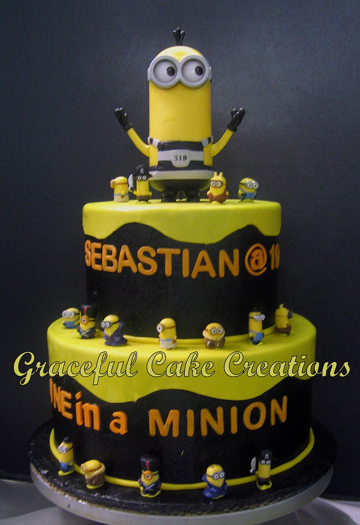 Prime Minion Birthday Cake Grace Tari Flickr Funny Birthday Cards Online Unhofree Goldxyz