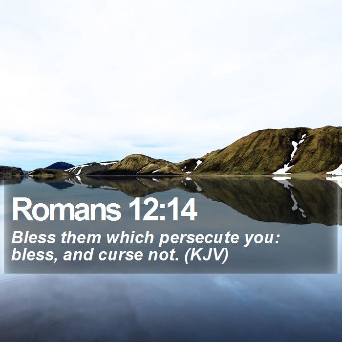 Daily Bible Verse - Romans 12:14 | Romans 12:14 Bless them w… | Flickr