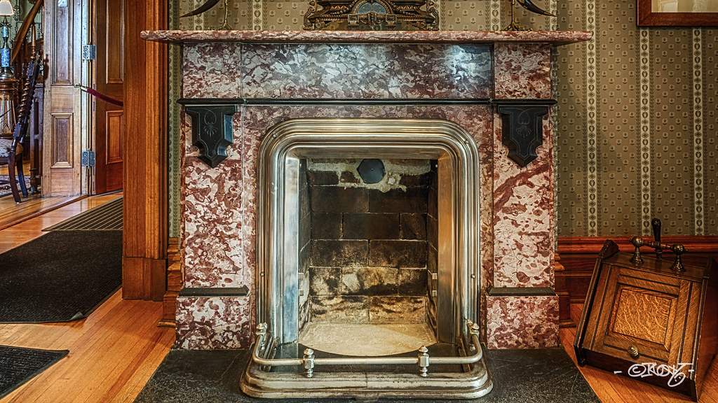 Fireplace A Coal Burning Fireplace At Historic General Dod Flickr