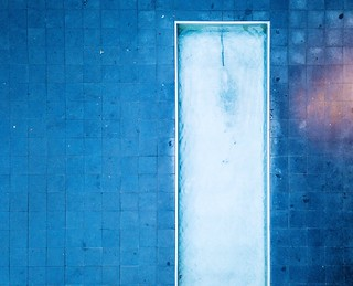 Bathtub. Taking this picture almost killed my Mavic Drone  Airphotography Dronephotography Blue Backgrounds Full Frame No People Day Architecture Built Structure Close-up Textured  Outdoors | by Czernay