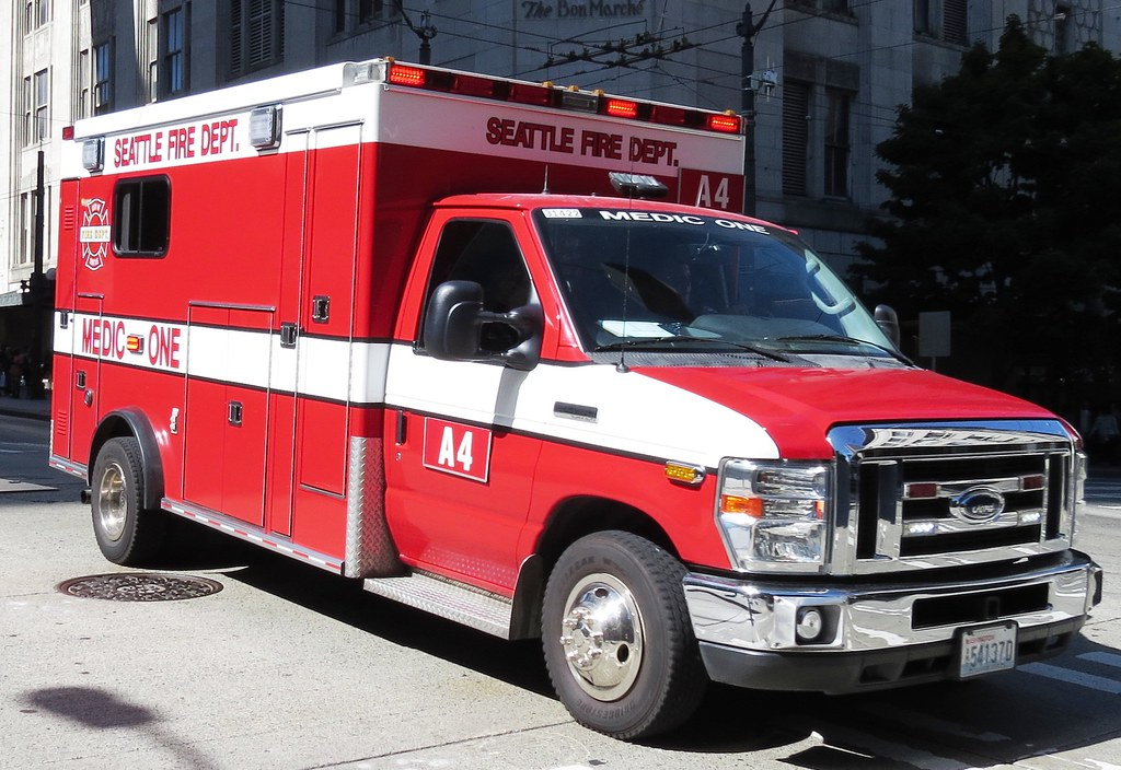 Seattle Fire Department Aid 4 | Zack Heistand | Flickr